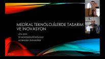 Samsun Üniversitesi Biyomedikal Günlükleri'nin İlk Konuğu Prof. Dr. Ata Akın Oldu